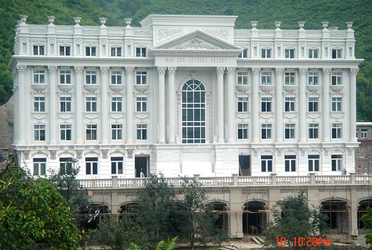 北京绿野天地GFRC构件项目