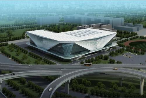 天津师范大学体育馆GFRC幕墙板项目