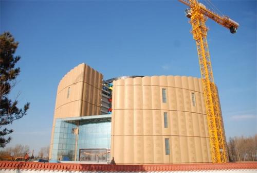 松原规划展览馆GFRC幕墙板项目